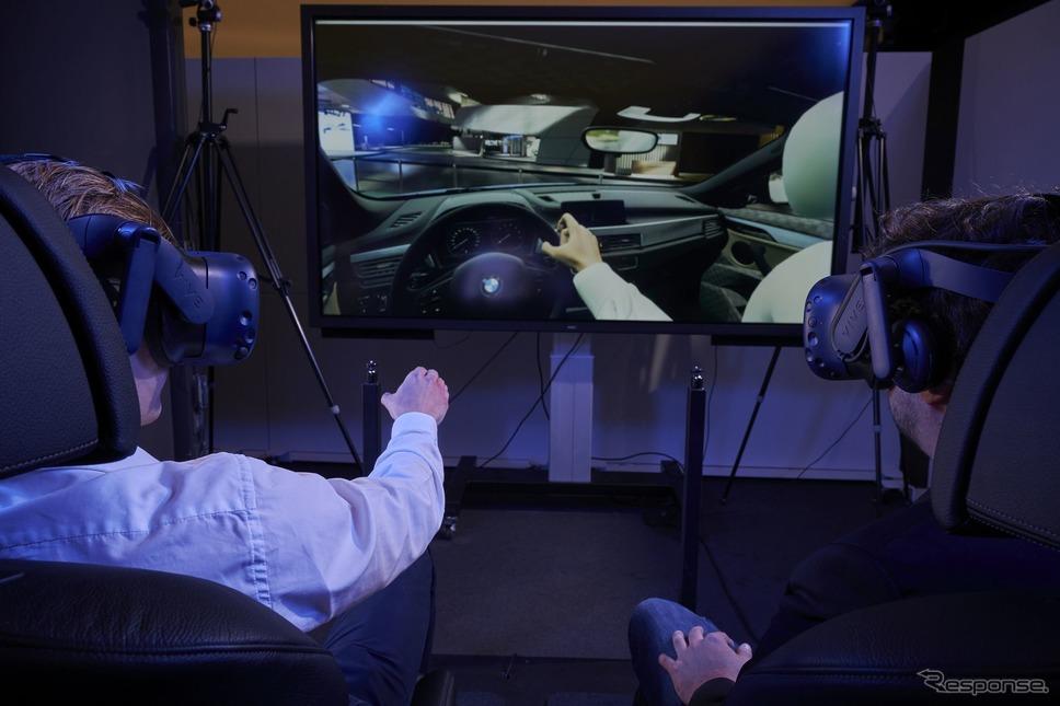 BMWの新世代EVのiXの開発に初めて導入されたゲーム技術《photo by BMW》