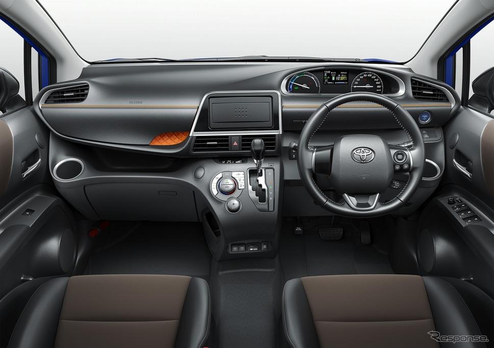 トヨタ・シエンタ(ファンベースGクエロ・ハイブリッド)《写真提供 トヨタ自動車》