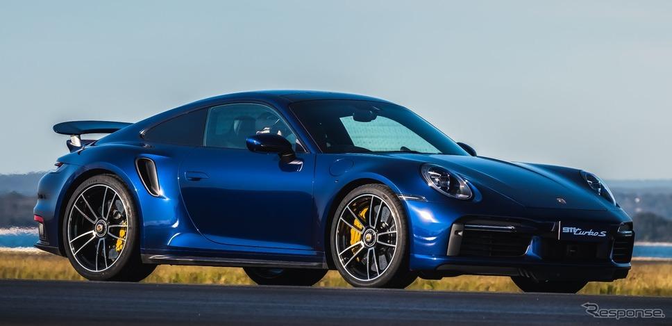 ポルシェ 911 ターボ S 新型《photo by Porsche》