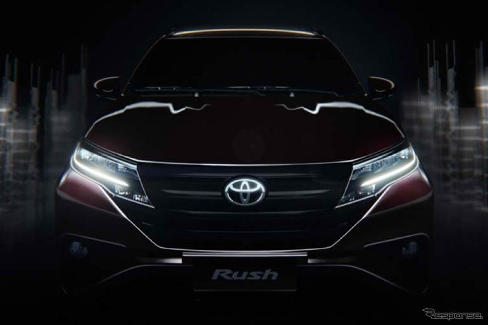 トヨタ・ラッシュ 改良新型《photo by Toyota》