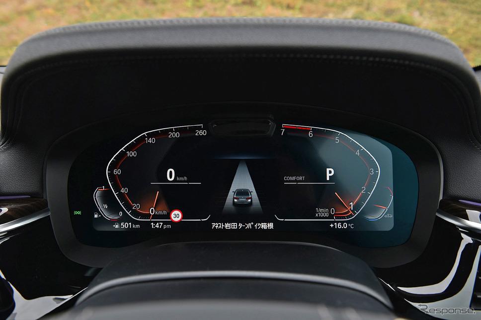 BMW 5シリーズ 改良新型(530i Luxury)《写真撮影 中野英幸》