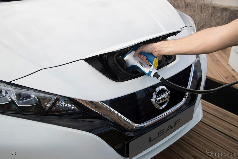 日産リーフ(2017年)《写真提供 日産自動車》