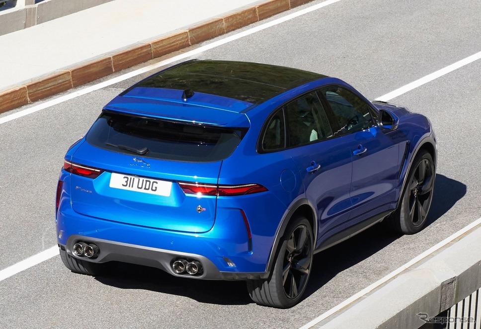 ジャガー F-PACE・SVR 改良新型《photo by Jaguar》
