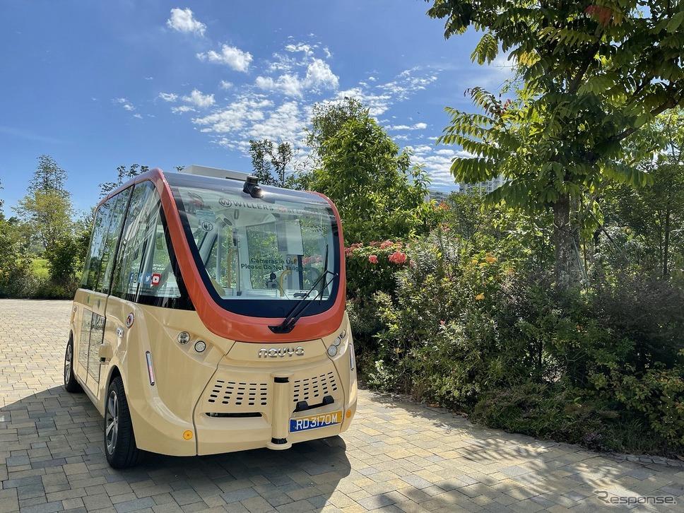 自動運転バス ナビヤアルマ《写真提供 WILLER》