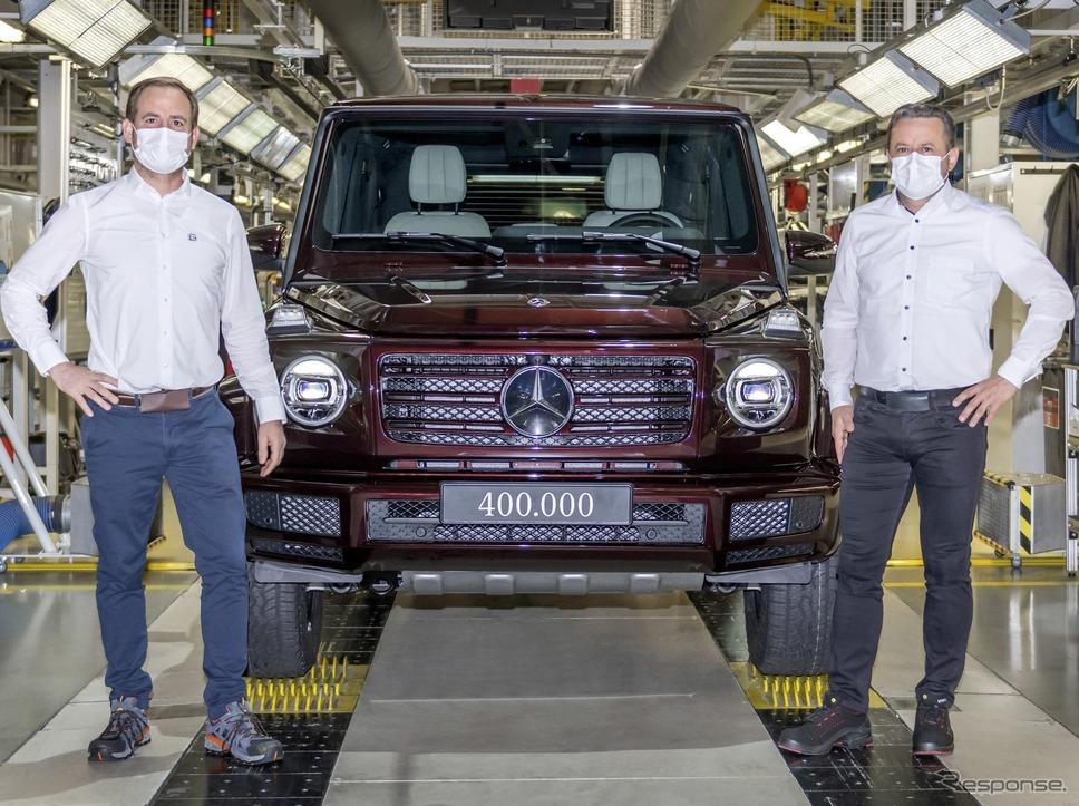 生産40万台目のメルセデスベンツ Gクラス《photo by Mercedes-Benz》