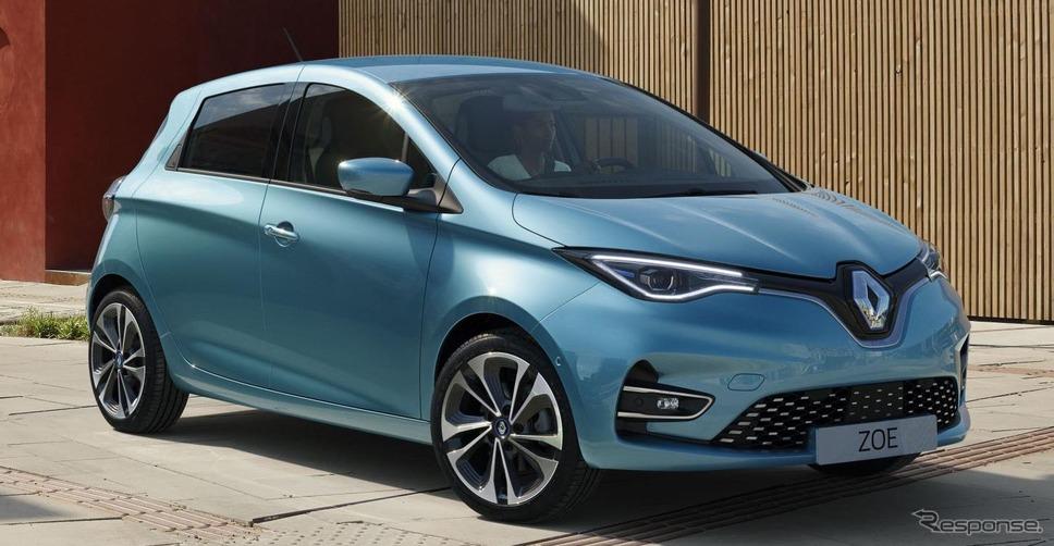 ルノーのEV、ゾエ 新型《photo by Renault》