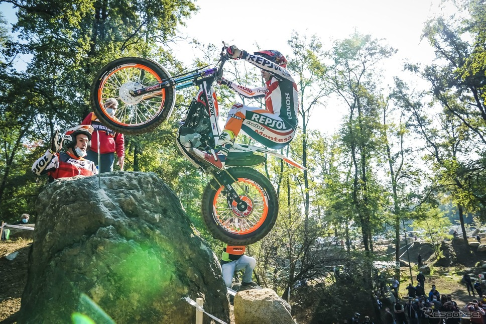 FIMトライアル世界選手権シリーズ(TrialGP)Honda Motor Co., Ltd. and its subsidiaries and affiliates. All Rights Reserved.