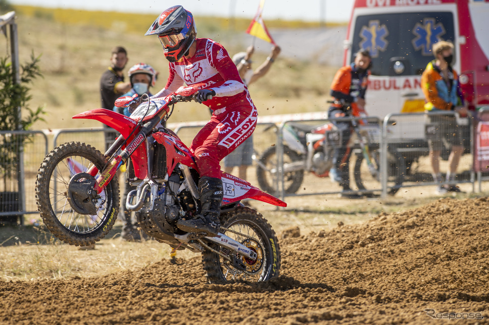 FIMモトクロス世界選手権(MXGP):ミッチェル・エバンス選手Honda Motor Co., Ltd. and its subsidiaries and affiliates. All Rights Reserved.