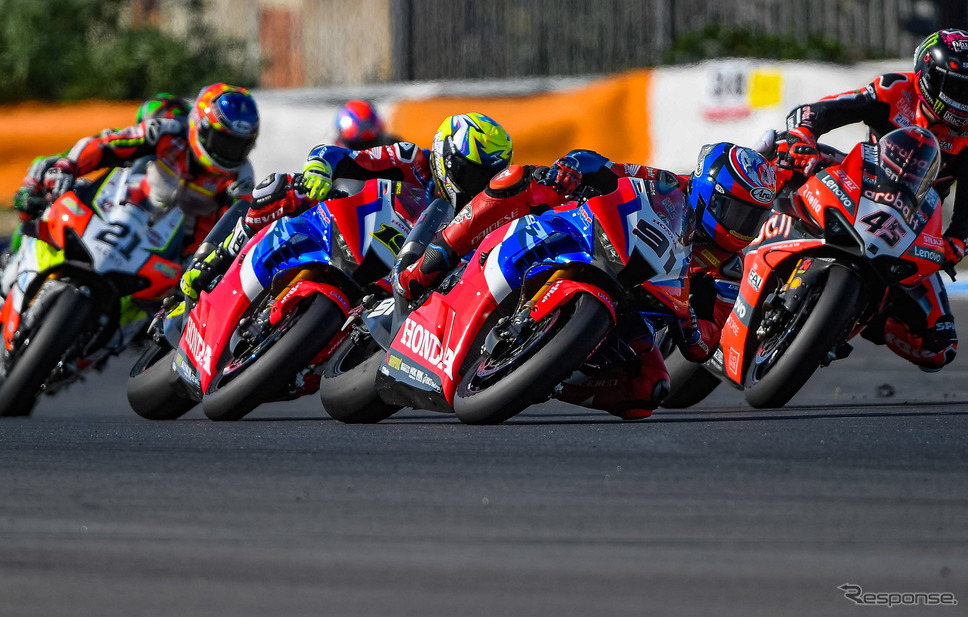 FIMスーパーバイク世界選手権(SBK):レオン・ハスラム選手(#91)Honda Motor Co., Ltd. and its subsidiaries and affiliates. All Rights Reserved.