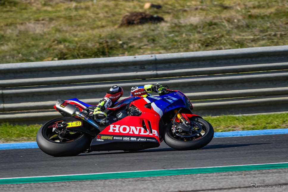 FIMスーパーバイク世界選手権(SBK):アルバロ・バウティスタ選手Honda Motor Co., Ltd. and its subsidiaries and affiliates. All Rights Reserved.