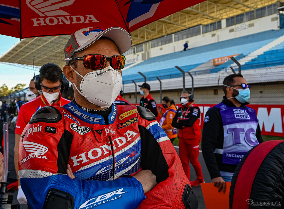 FIMスーパーバイク世界選手権(SBK)Honda Motor Co., Ltd. and its subsidiaries and affiliates. All Rights Reserved.