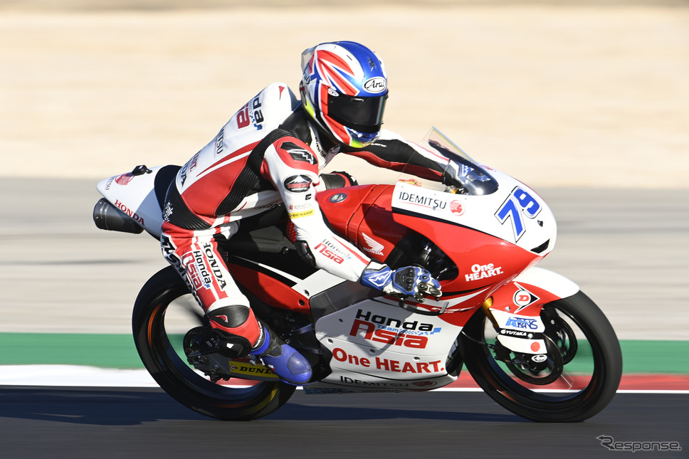 FIMロードレース世界選手権(MotoGP)Moto2クラス:小椋藍選手Honda Motor Co., Ltd. and its subsidiaries and affiliates. All Rights Reserved.