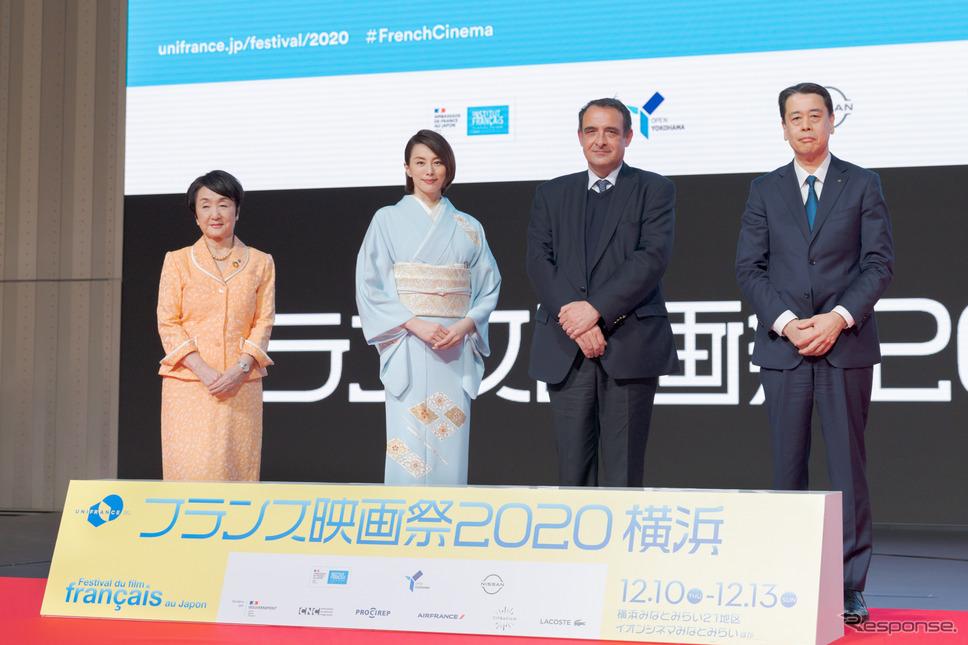 フェスティバルミューズとして米倉涼子が登場 「フランス映画祭2020横浜」開幕《写真撮影 関口敬文》
