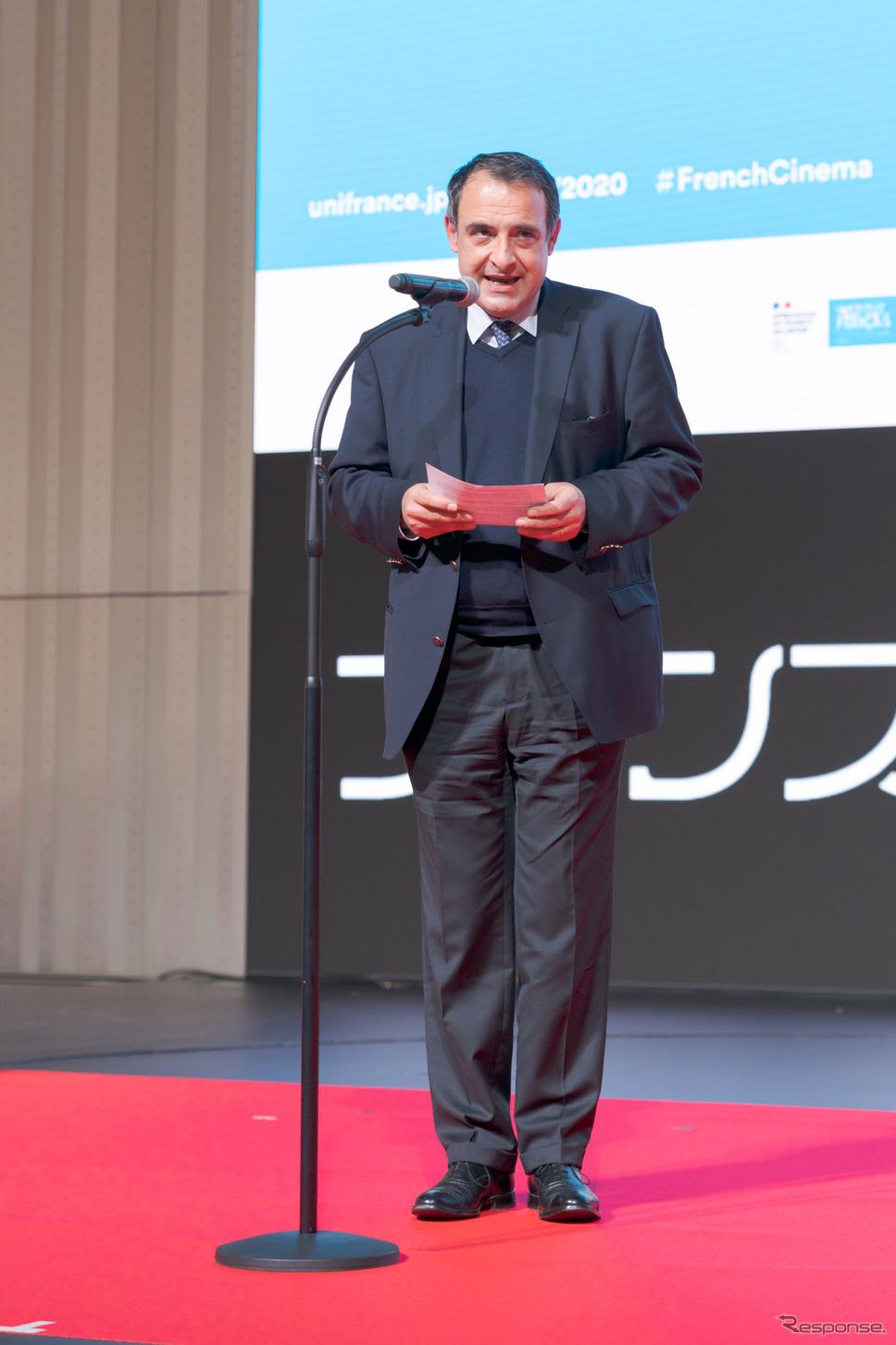 駐日フランス大使のフィリップ・セトン氏。《写真撮影 関口敬文》