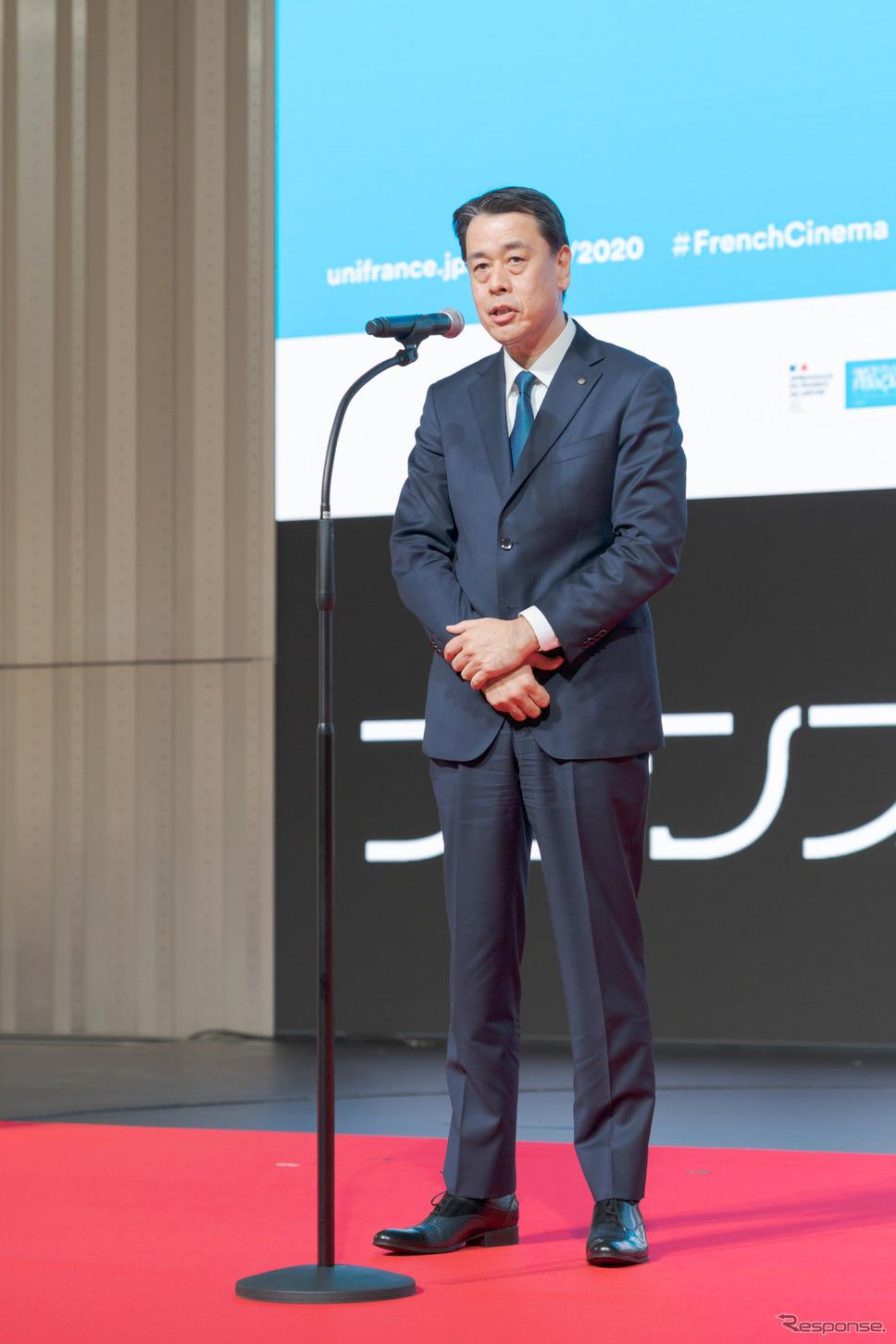 日産自動車株式会社代表執行役社長兼最高経営責任者・内田誠氏。《写真撮影 関口敬文》