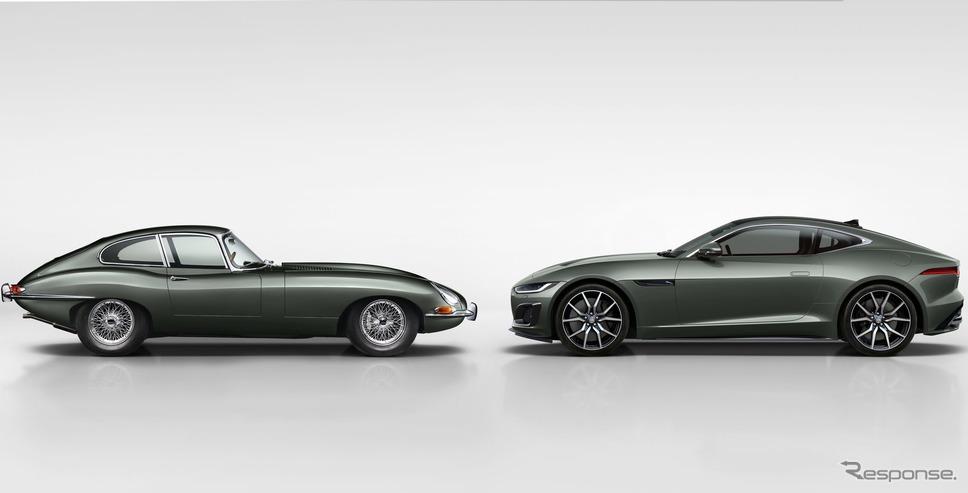 ジャガー Eタイプ とジャガー Fタイプ・ヘリテイジ 60 エディション《photo by Jaguar》