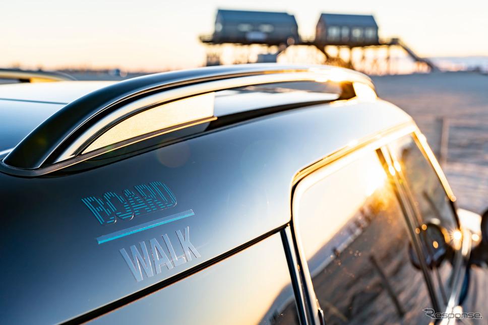MINI カントリーマン(クロスオーバー)の「ボードウォーク」《photo by MINI》