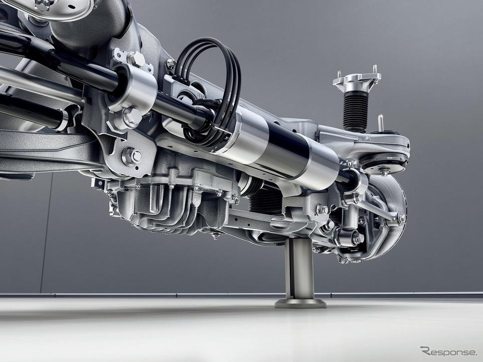 AMGアクティブライドコントロール《写真提供 メルセデス・ベンツ日本》