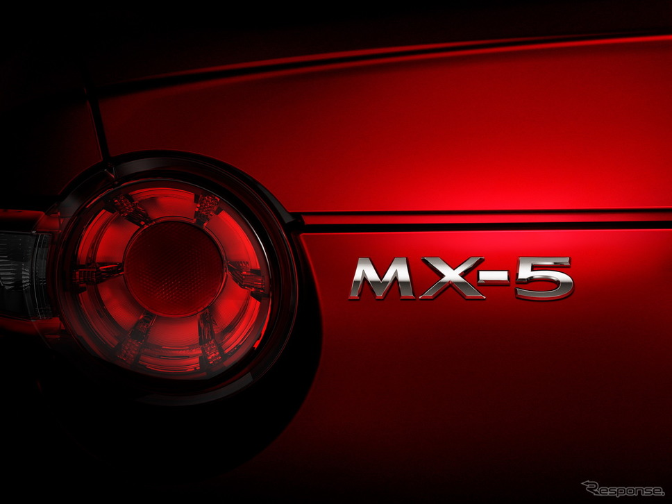 マツダ MX-5 ミアータ(ロードスターに相当)《photo by Mazda》