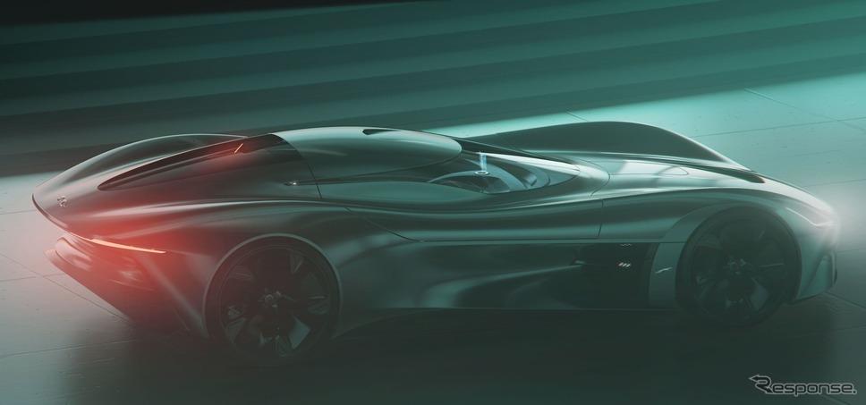 ジャガー・ビジョン・グランツーリスモ・クーペ(参考)《photo by Jaguar》