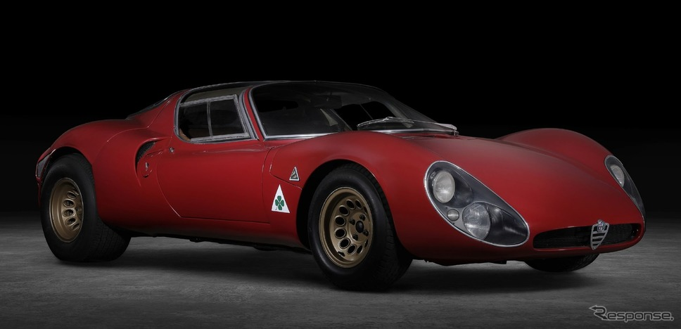 アルファロメオ  33ストラダーレ(1967年)《photo by Alfa Romeo》