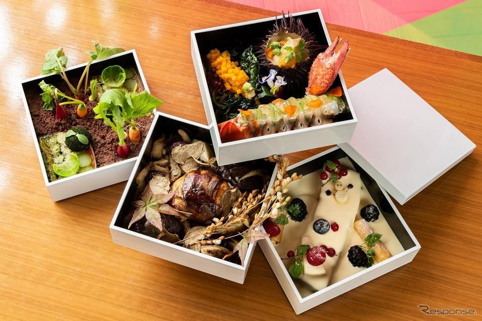 おうちでクリスマスディナー《画像提供 INTERSECT BY LEXUS-TOKYO PR事務局》