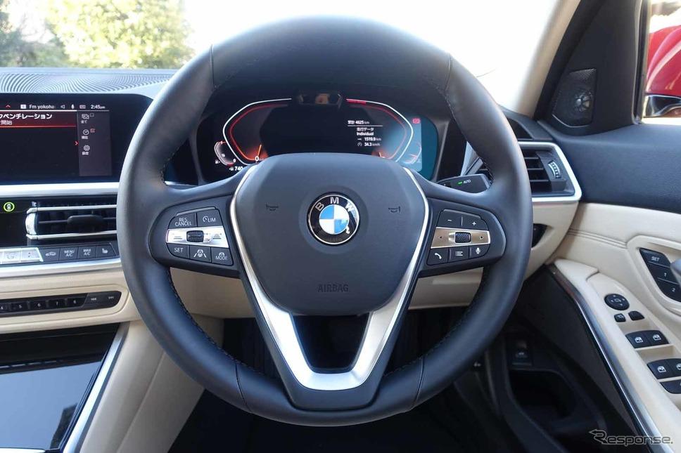 BMW 318i《写真撮影 中村孝仁》