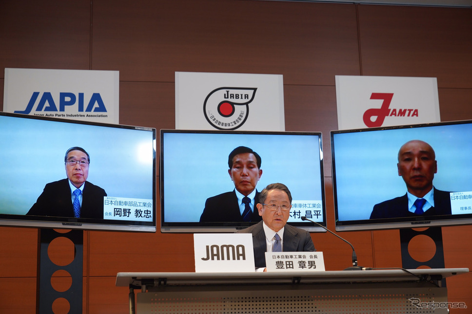 日本自動車工業会 豊田章男会長《写真提供 トヨタ自動車》
