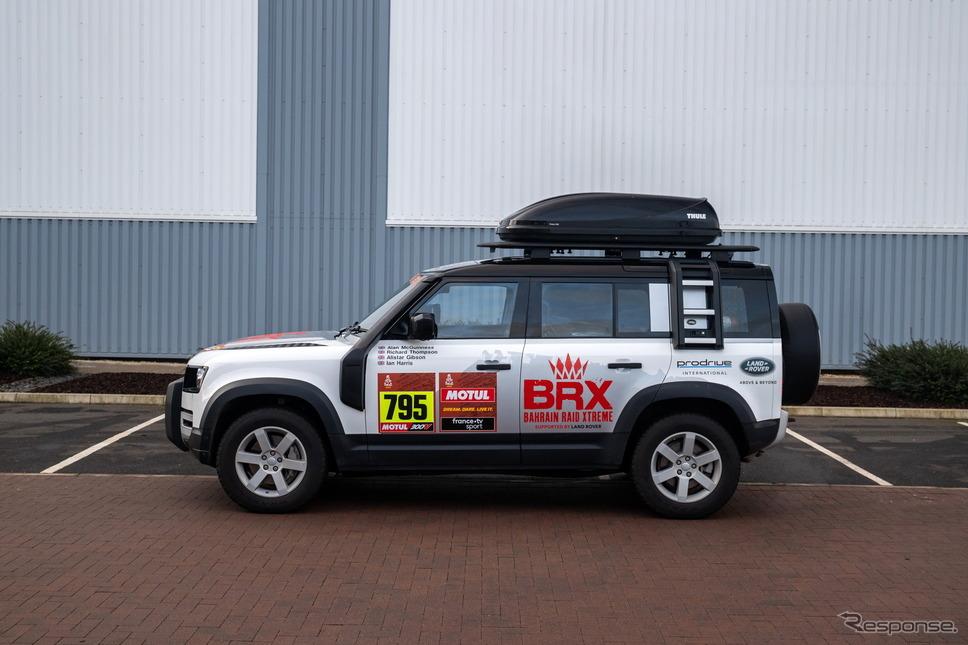 ランドローバー・ディフェンダー 新型のダカールラリー2021サポートカー《photo by Land Rover》