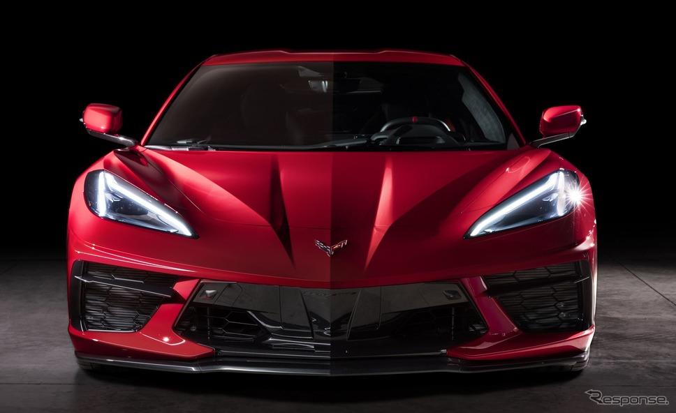 シボレー・コルベット・スティングレイ《photo by Chevrolet 》