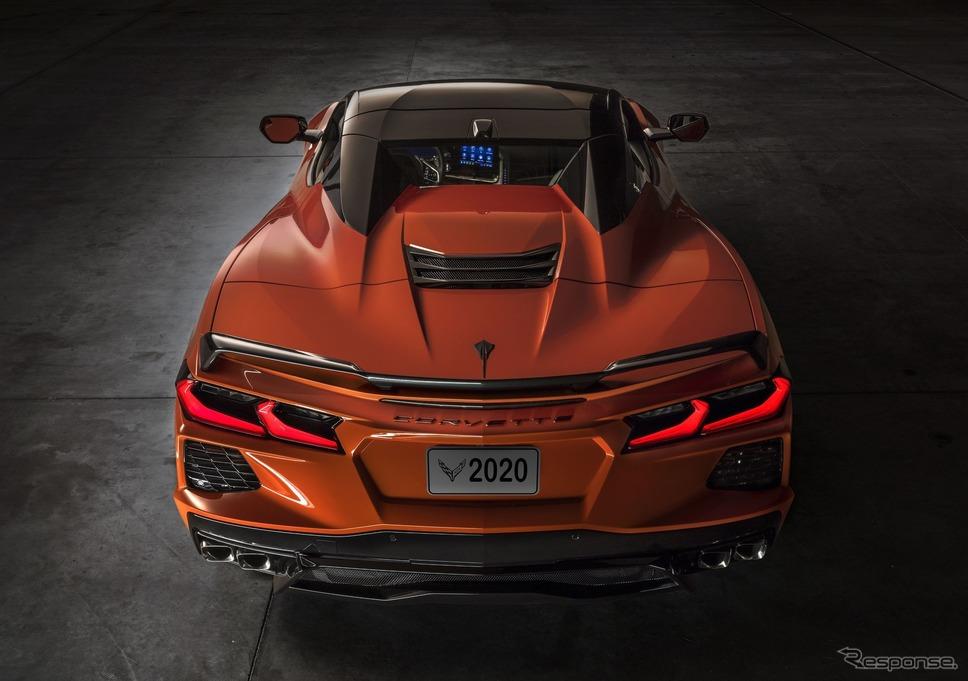 シボレー・コルベット・スティングレイ・コンバーチブル《photo by Chevrolet》