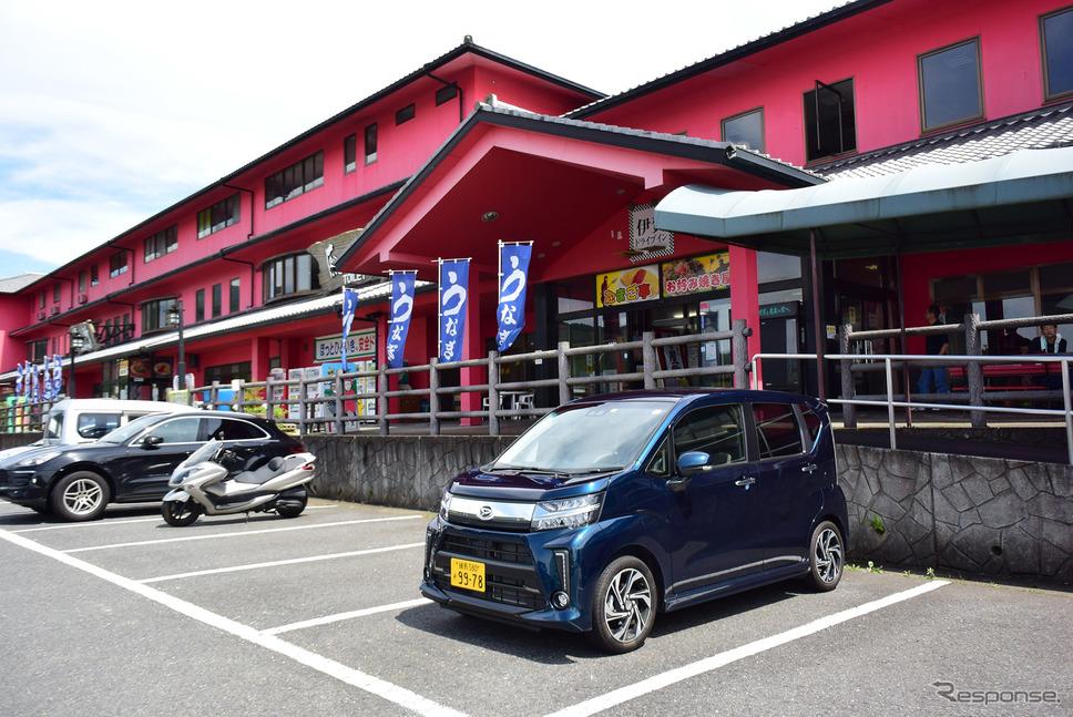 三重と奈良を結ぶ名阪国道の途中、伊賀のドライブインにて。《写真撮影 井元康一郎》