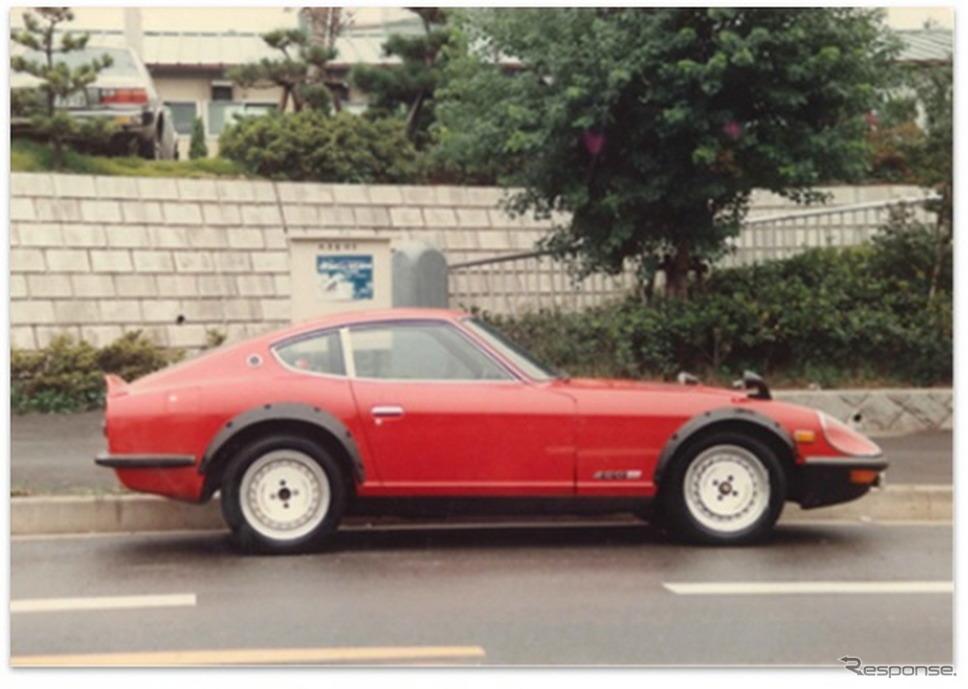 日産の田村 宏志チーフプロダクトスペシャリストが所有していたフェアレディZ(240ZG)《photo by Nissan》