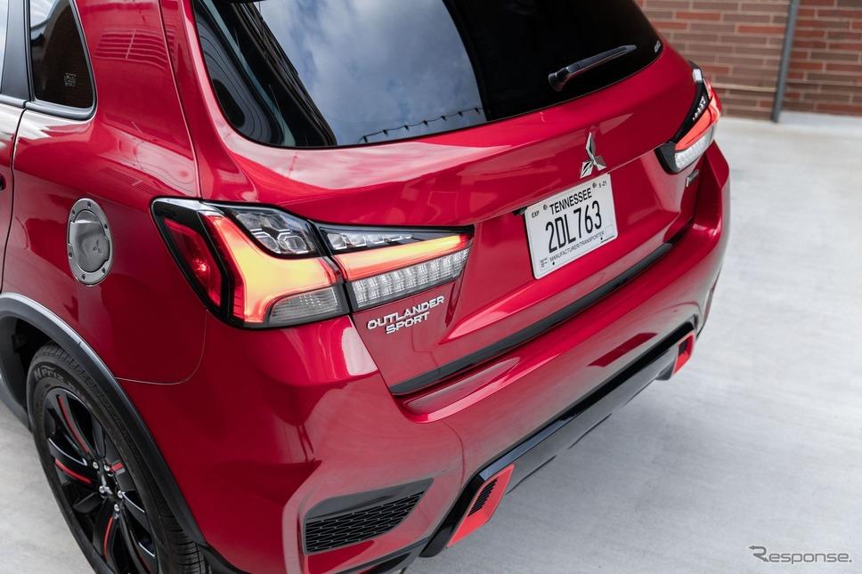 三菱 アウトランダー スポーツ( RVR に相当)の2021年モデルのブラックエディション《photo by Mitsubishi Motors》