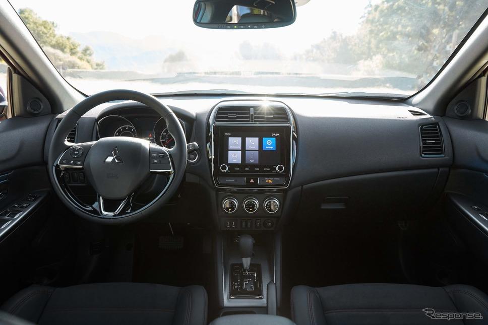 三菱 アウトランダー スポーツ( RVR に相当)の2021年モデル《photo by Mitsubishi Motors》