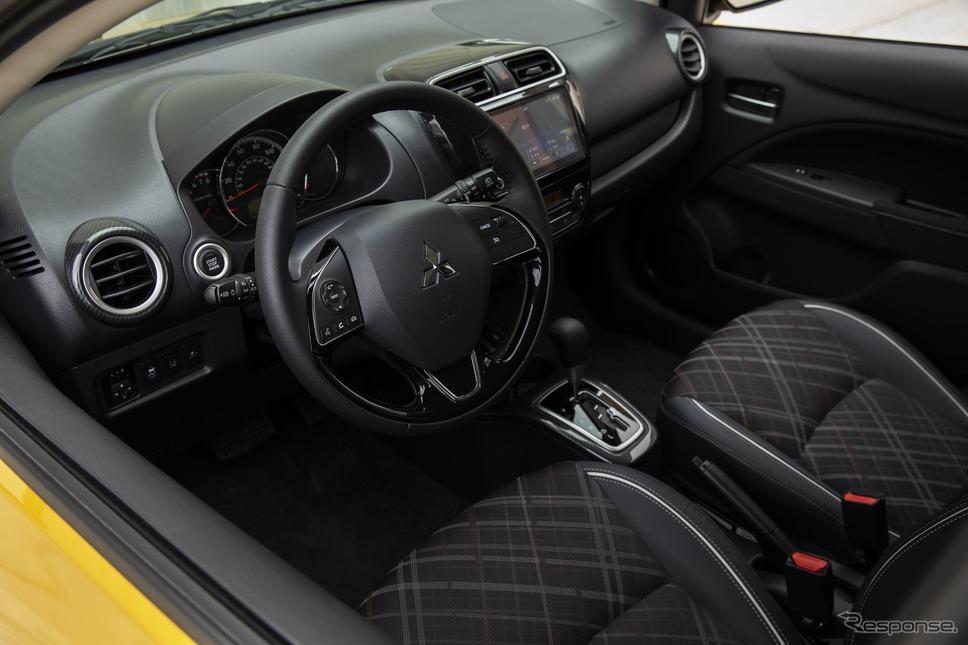 三菱 ミラージュ 改良新型(米国仕様)《photo by Mitsubishi Motors》