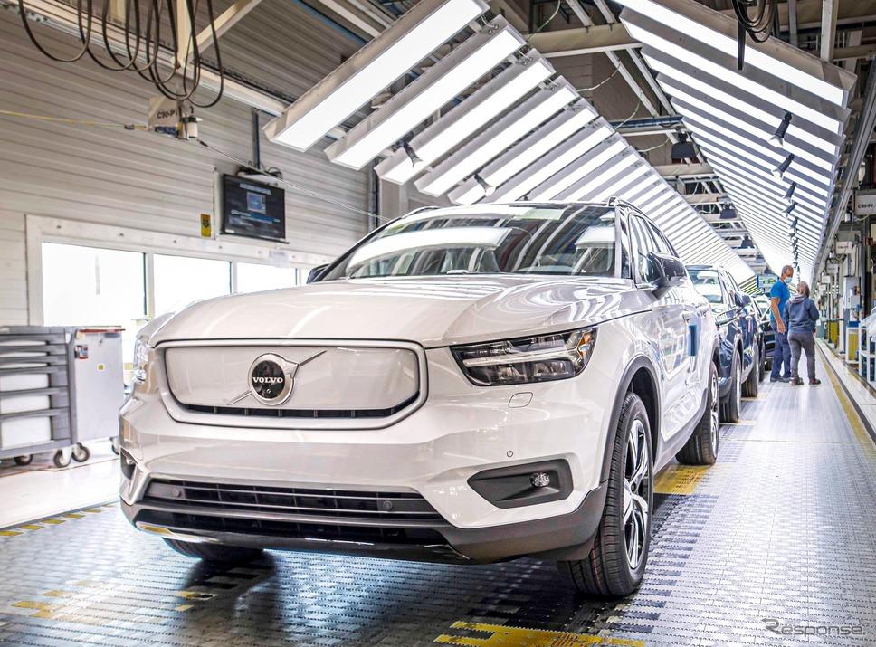 ボルボカーズのベルギー・ゲント工場《photo by Volvo Cars》