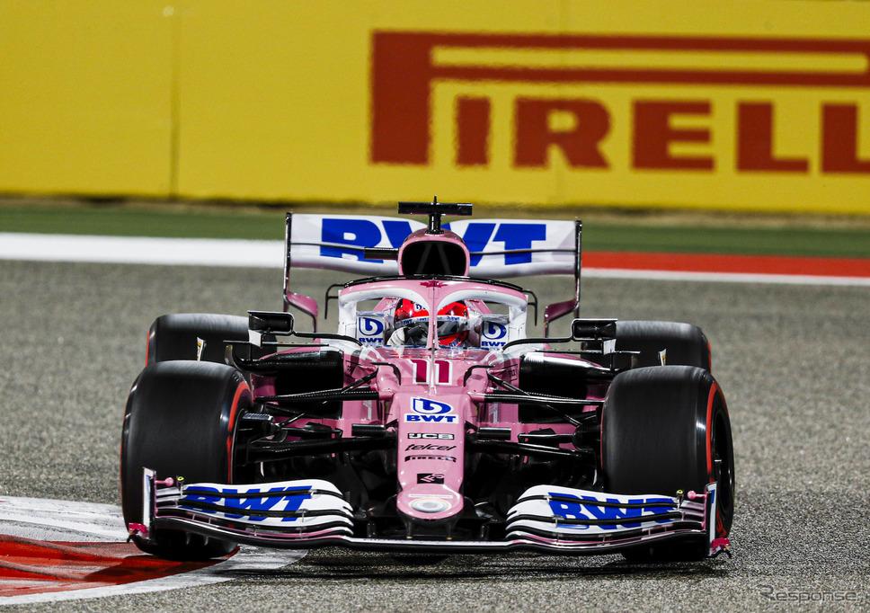2020年型レーシングポイントRP20(#11 S.ペレス)《写真提供 Pirelli》
