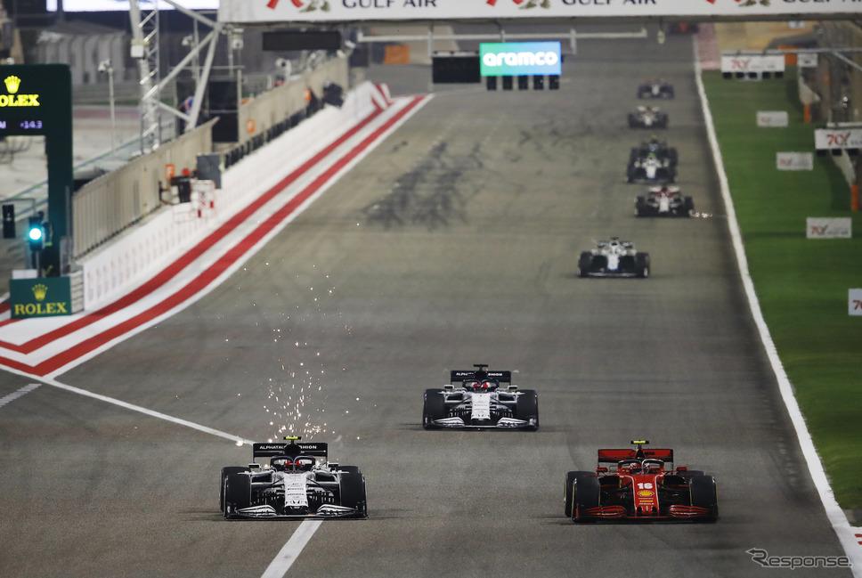 2020年F1バーレーンGP(サクヒール)《写真提供 Pirelli》