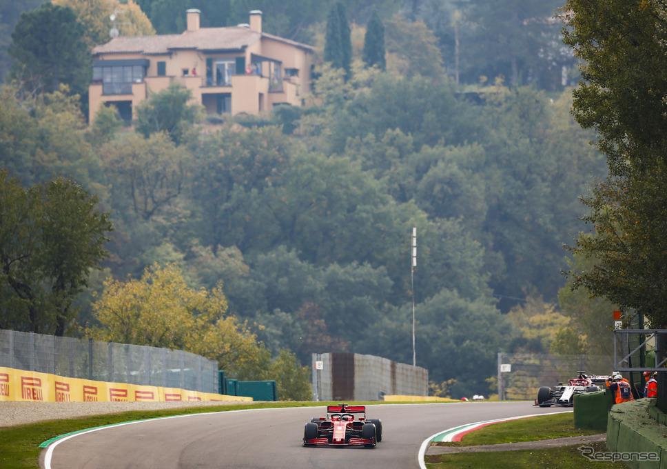 2020年F1エミリア・ロマーニャGP(イモラ)《写真提供 Pirelli》