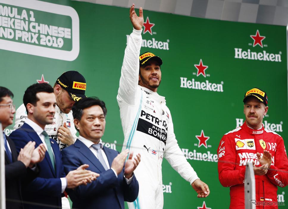 2019年F1中国GP(上海)《写真提供 Pirelli》