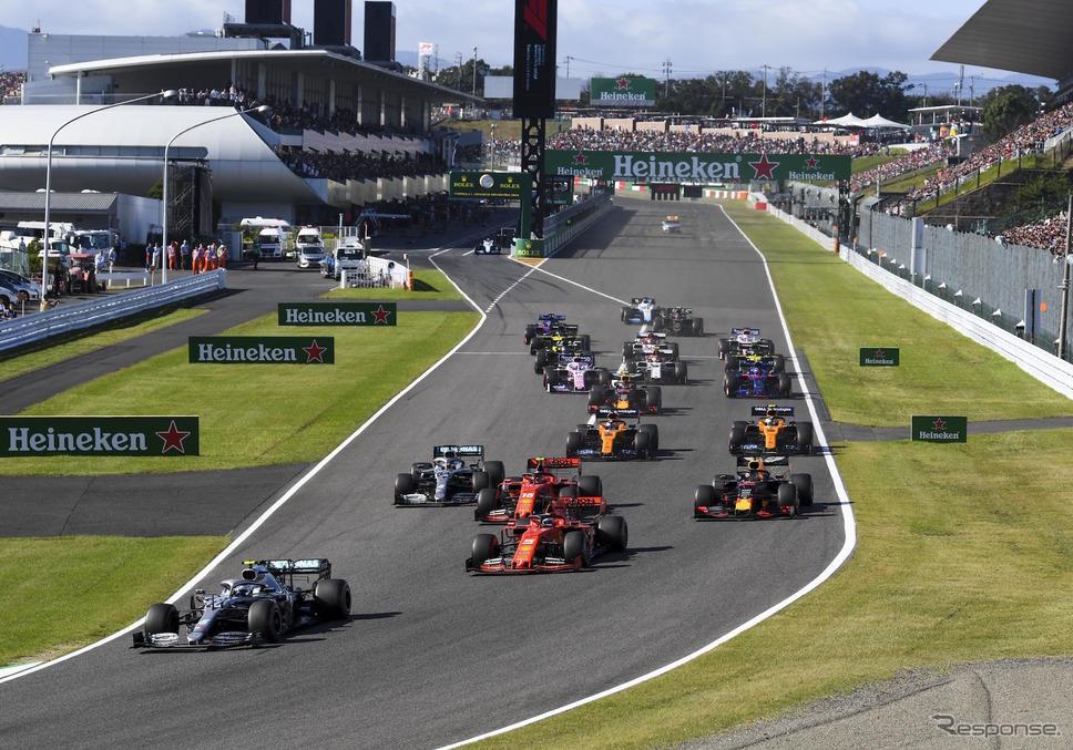 2019年F1日本GP(鈴鹿)《写真提供 Pirelli》