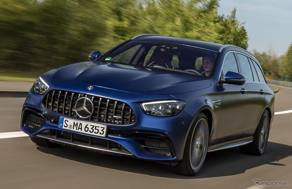 メルセデスAMG  E63 S 4MATIC+ ステーションワゴン 改良新型《photo by Mercedes-Benz》