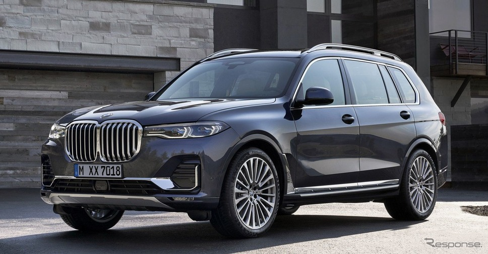 BMW X7《photo by BMW》