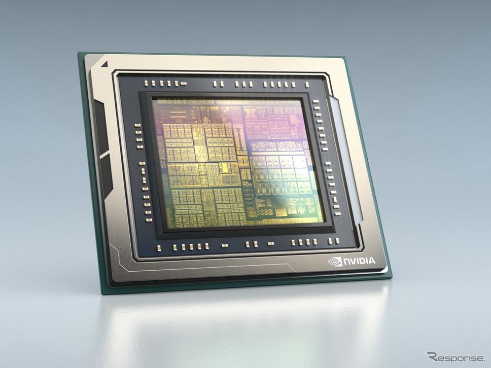 エヌビディアの「NVIDIA DRIVE Orin」《photo by NVIDIA》