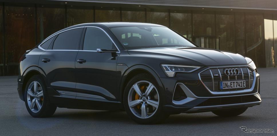 アウディ e-tron スポーツバック《photo by Audi》