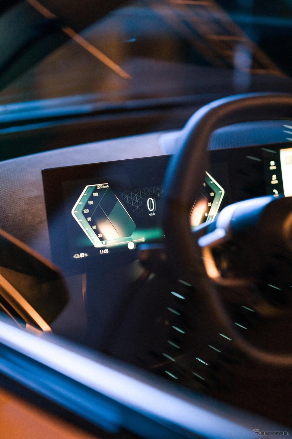 BMWの次世代「iDrive」《photo by BMW》