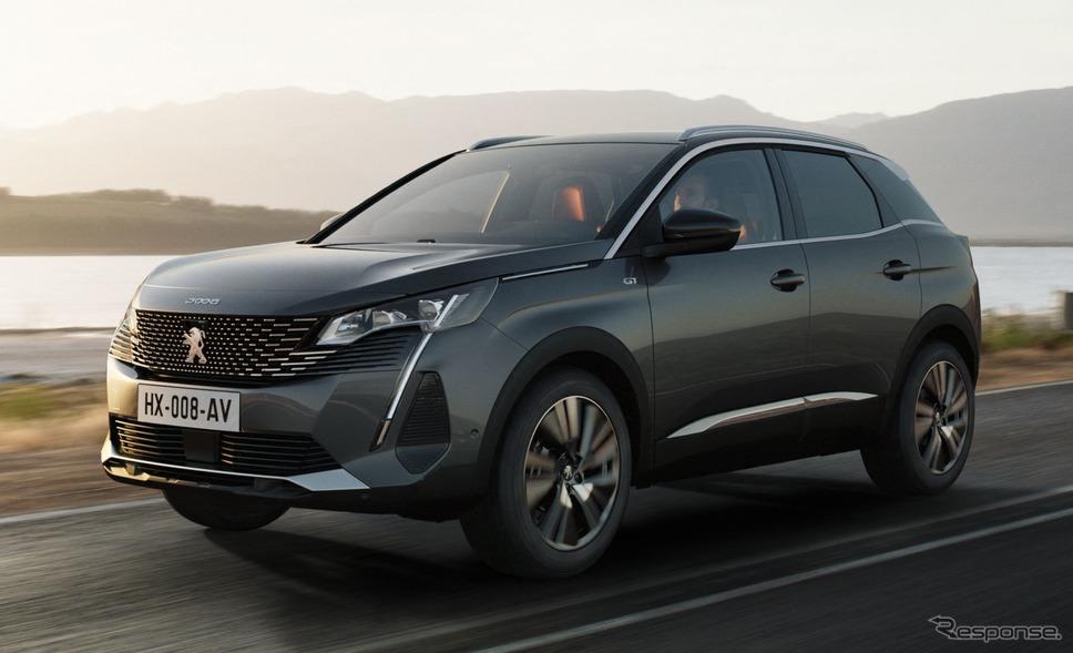 プジョー SUV 3008 改良新型《photo by Peugeot》