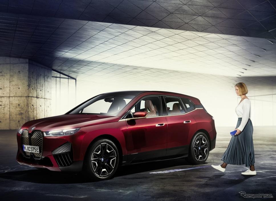 BMW iX の「BMW デジタルキー・プラス」のイメージ《photo by BMW》