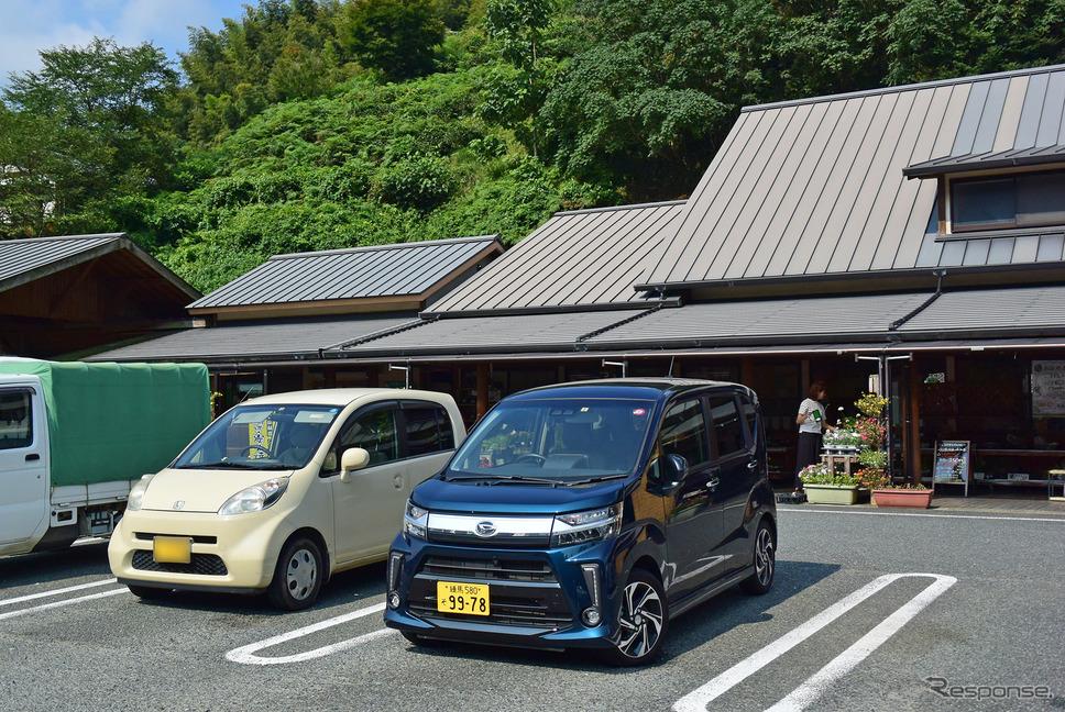 福岡北方の道の駅たちばなにて。《写真撮影 井元康一郎》